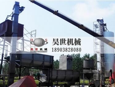 环保型全套熟石灰制备生产线石灰消化机