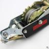 厂家鲁威1-4T汽车货物手动钢丝绳物流拉紧器 棘轮式双钩紧线器