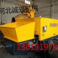 厂家直供 多功能混凝土输送泵设备 HTB-50细石泵