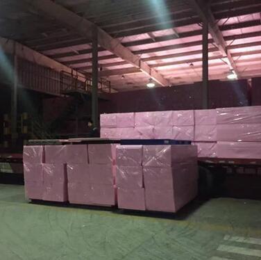 欧文斯科宁挤塑板粉色冷库挤塑板 20mm B1级外墙挤塑板厂家定制