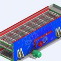 供应椭圆振动筛 圆振动筛分机 大型脱水筛 生产厂家 南昌长江思科