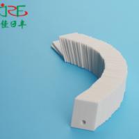 陶瓷片TO-220A 导热陶瓷片异形加工 陶瓷绝缘 氧化铝陶瓷片