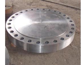 厂家直销 锻打法兰盲板碳钢水罐封盖盲法兰压力容器法兰盖可定制