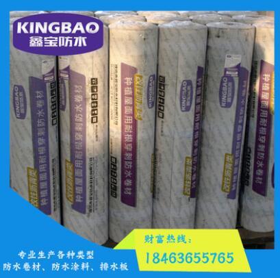 厂家专业生产自粘防水卷材