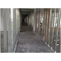 厂家直销9.5厘石膏板 石膏板轻钢龙骨隔墙隔断 虎门包上门安装