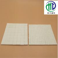 耐磨陶瓷片是经过高温烧制而成的一种陶瓷