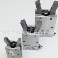MHC2-20D气动SMC型MHC2-10D 16D 25D 32D平行开闭型手指 HFY气爪