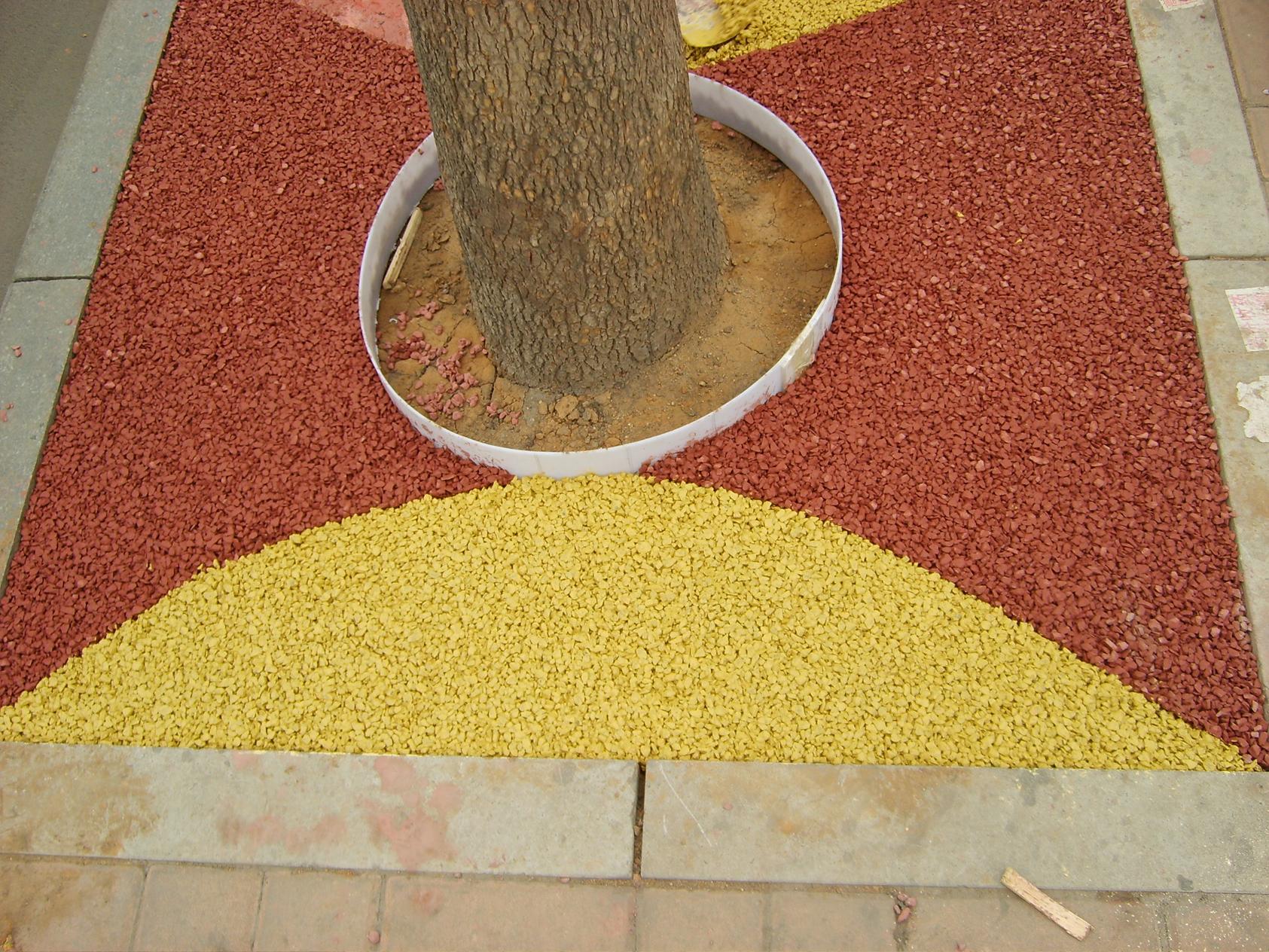 供应透水混凝土用胶结料 透水混凝土施工
