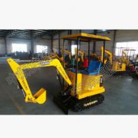 HC18型挖掘机现场施工工作视频 挖掘机