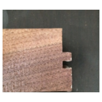 北美黑胡桃多拼地板表皮(框锯)规格1860*186mm