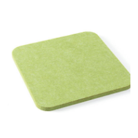 聚酯纤维吸音板隔音材料 高密度聚酯纤维光面吸音板 消音装饰材料
