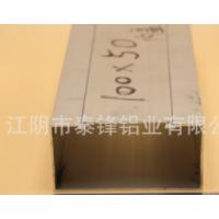 厂家直销 优质供应 加厚铝合金方槽(1.5厚) 100*50内盖
