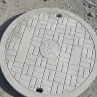 钢纤维重型井盖700圆型混凝土污水井盖城市雨水篦子重型井盖可定