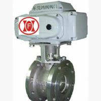 福建电动蒸汽调节阀/福州电动球阀/造纸设备机械行业