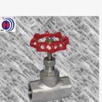 美标截止阀 不锈钢丝扣B型截止阀 DN50小口径截止阀