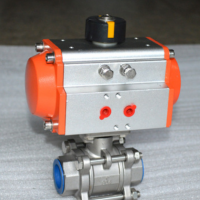 五一热销气动丝扣球阀,ZXDA气动球阀厂家,Q611F二片式气动螺纹