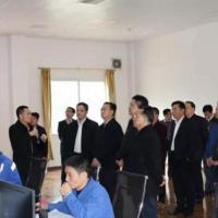 """张爱军市长亲临""""塔牌集团600万吨水泥项目""""调研"""