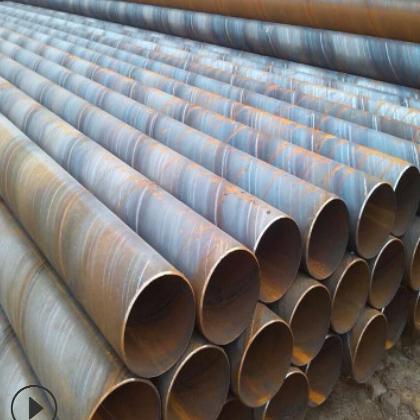 现货Q235螺旋管 Q235螺旋焊管720*12 化工废气防水处理管道用螺旋