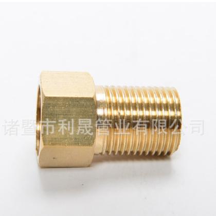 4分加厚内外丝延伸接头 全铜加长接头 内外丝直接