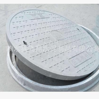 水泥井盖厂家直销可来图来样加工定做圆形井盖大量生产钢纤维井盖