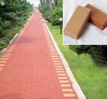 园林景观砖高质量多色面包砖实心 空心 表面 拉毛面等