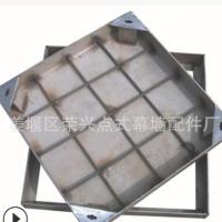 304不锈钢方形道路铺装井盖生产厂家 供应道路隐形下沉式包边井盖