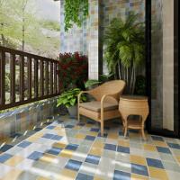 欧式仿古砖卫生间瓷砖厨房墙砖美式浴室地砖田园300x300阳台瓷砖