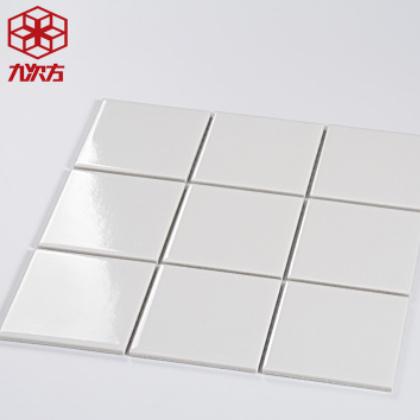 马赛克瓷砖北欧简约九宫格厨房卫生间墙砖游泳池砖300x300