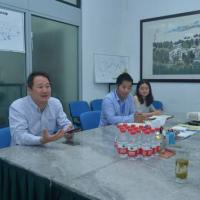 广东省水泥工业协会常务副会长李黎到访中国水泥网