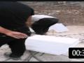 水泥制品路沿石机制作效果 (128播放)