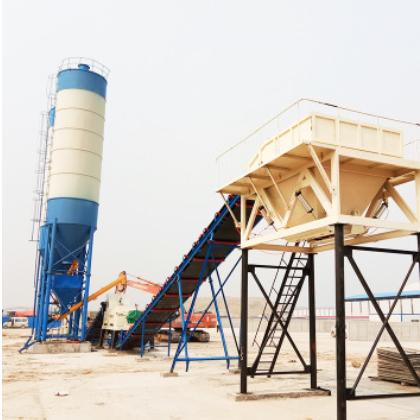 固定式商砼混凝土搅拌站 厂家直销 稳定土拌合站混凝土搅拌站设备