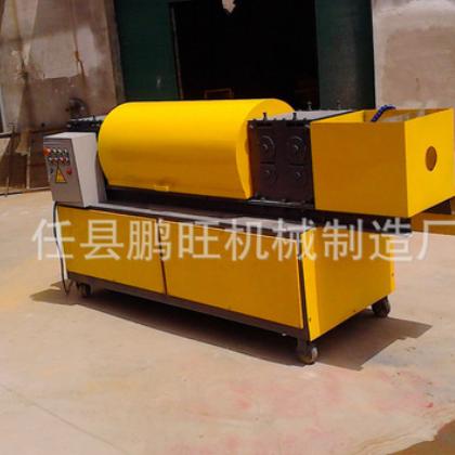 PW-SQX48钢管调直机 多功能钢管调直机 钢管调直除锈刷漆一体机