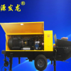 柴油版动力二次构造柱泵细石大骨料混凝土输送泵液压浇筑泵上料机