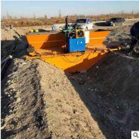 自动行走渠道成型机 梯形公路混凝土衬砌机 沟渠水泥成型机