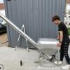 可定制不锈钢上料机 干粉砂浆绞龙提升机 塑料颗粒输送机