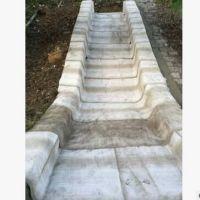 水泥毯抢险工程速凝水泥毯排水沟导流渠硬化新材料水泥毯现货批发
