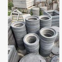 球墨铸铁井盖基座 钢纤维井盖底座 水泥窨井盖底座