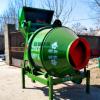 小型翻斗液压JZC300混凝土滚筒搅拌机 乡村建房水泥大沙混合设备
