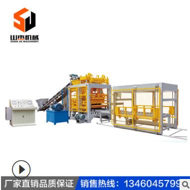 大型全自动液压免烧砖机 QT6-15水泥砌块砖机 全自动面包砖机