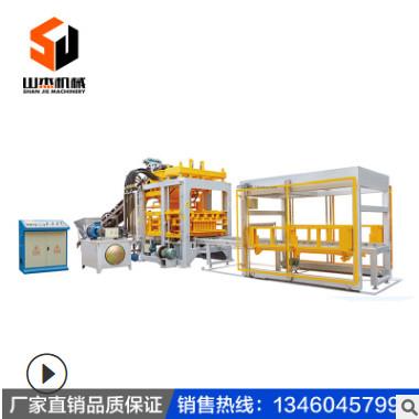 全自动液压水泥免烧面包空心砖机多功能混凝土高铁支撑静压垫块机