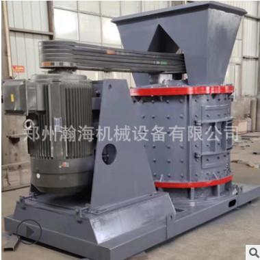 无筛底直筒复合粉碎制砂机 1250型数控制砂机 板锤风化砂制砂机