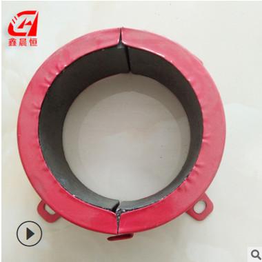 防火材料厂家 生产阻火圈 DN110不锈钢塑料管道阻火圈 DN75型