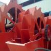 大型移动轮式洗砂机 单槽双槽三槽洗砂筛沙一体机 水轮洗沙设备