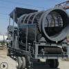 工业建筑垃圾筛选机无轴滚筒筛沙机大型冲孔板滚筒式筛沙机选矿机