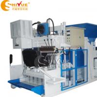 山东时越直销 移动式 免烧空心砖机 QMY12-15移动式制砖机