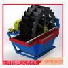 厂家直卖正科轮式洗砂机多功能轮斗洗砂机砂石清洗分离一体机