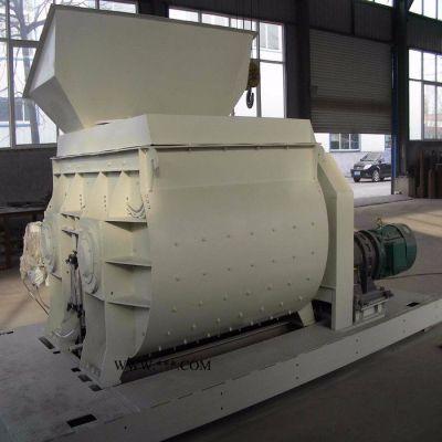 济南宇恒JS系列全自动水泥搅拌机生产 混凝土搅拌器   卧式全自动混泥土拌和机