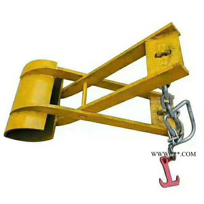 水泥杆装卸专用工具价格 水泥电线杆夹具 嘉枢 电线杆吊装夹具
