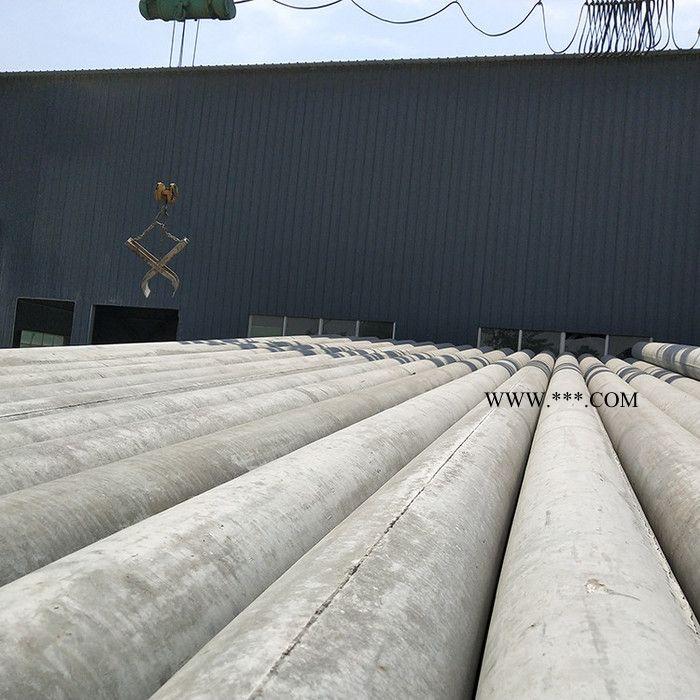 电力建设 10米水泥电线杆非预应力混凝土电线杆 电力杆塔水泥杆