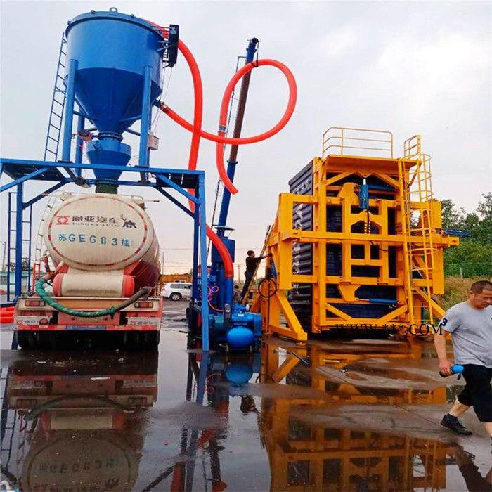 超越直供集装箱卸车机 散装灰输送机 水泥灰装车机 气力吸灰机